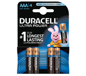 BATTERIJ DURACELL AAA ULTRA POWER MX2400 ALKALINE