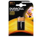 BATTERIJ DURACELL 9V PLUS POWER MN1604 ALKALINE