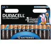 BATTERIJ DURACELL AA ULTRA POWER ALKALINE 12-PACK