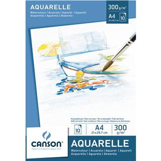 AQUARELBLOK CANSON A4 10V 300GR