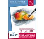 OLIE-ACRYLBLOK CANSON A3 10V 290GR