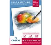 OLIE-ACRYLBLOK CANSON GRAD A4 20V 290GR