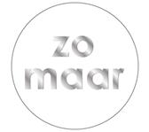 ETIKET HAZA ZOMAAR WIT/ZILVER