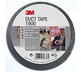 PLAKBAND 3M SCOTCH 1900 DUCT TAPE 50MMX50M ZWART