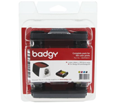 LINT EVOLIS BADGY 200 YMCKO INCL 100 KAARTEN 0.76MM