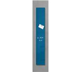 GLAS-MAGNEETBORD SIGEL 120X780X15MM PETROLBLAUW