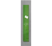 GLAS-MAGNEETBORD SIGEL 120X780X15MM GROEN