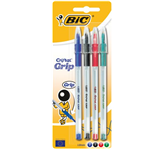 BALPEN BIC CRISTAL GRIP ASS