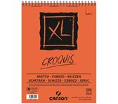 SCHETSBLOK CANSON XL CROQUIS A3 90GR 120V SPIR
