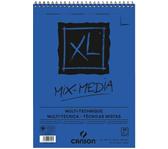 AQUARELBLOK CANSON XL MIX MEDIA SPIR A3 300GR 30V