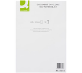 ENVELOP Q-CONNECT AKTE C4 229X324 120GR ZK WIT