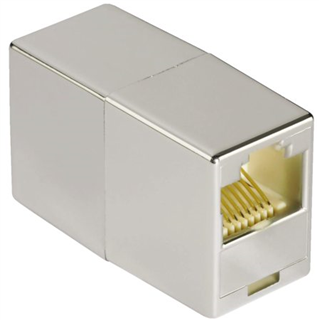 ADAPTER HAMA CAT 5E 2X RJ45 GRIJS