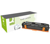 TONERCARTRIDGE Q-CONNECT HP CF211A 1.8K BLAUW