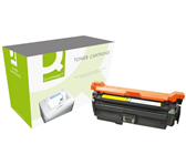 TONERCARTRIDGE Q-CONNECT HP CF032A 12.5K GEEL