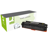 TONERCARTRIDGE Q-CONNECT HP CF382A 2.7K GEEL