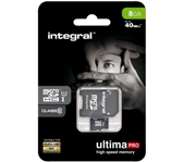 GEHEUGENKAART INTEGRAL MICRO SDHC 8GB ULTIMAPRO CL10