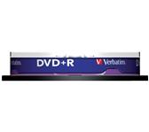 DVD+R VERBATIM 4.7GB 16X 10PK SPINDEL