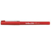 FINELINER ARTLINE 220 ROND 0.2MM ROOD