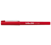 FINELINER ARTLINE 200 ROND 0.4MM ROOD