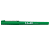FINELINER ARTLINE 200 ROND 0.4MM GROEN