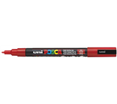 VERFSTIFT POSCA PC3M F ROOD