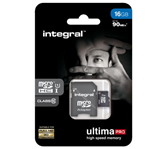 GEHEUGENKAART INTEGRAL MICRO SDHC 16GB ULTIMAPRO CL10