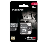 GEHEUGENKAART INTEGRAL MICRO SDXC 64GB ULTIMAPRO CL10