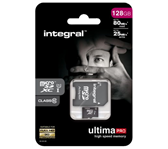 GEHEUGENKAART INTEGRAL MICRO SDXC 128GB ULTIMAPRO CL10