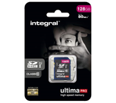 GEHEUGENKAART INTEGRAL SDHC 128GB ULTIMAPRO CL10