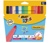 KLEURSTIFT BICKIDS VISACOLOR N-PERM ASS