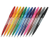 BRUSHSTIFT PENTEL SIGN SES15C ASS