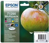 INKCARTRIDGE EPSON T1295 ZWART + 3 KLEUREN