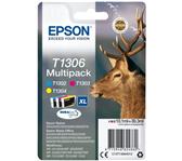 INKCARTRIDGE EPSON T1306 XL 3 KLEUREN
