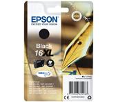 INKCARTRIDGE EPSON 16XL T1631 ZWART