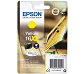 INKCARTRIDGE EPSON 16XL T1634 GEEL