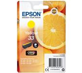 INKCARTRIDGE EPSON 33 T3344 GEEL