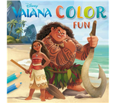 KLEURBOEK DISNEY VAIANA COLOR FUN