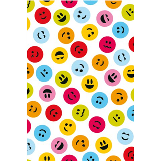 APPARAATROL HAZA FUNNY FACES 200MX50CM