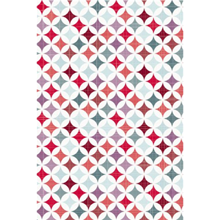 APPARAATROL HAZA GRAPHIC STYLE RED 200MX50CM