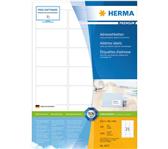 ETIKET HERMA 4677 63.5X38.1MM PREMIUM A4 2100ST