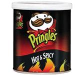 CHIPS PRINGLES HOT&SPICEY 40GR