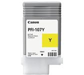 INKCARTRIDGE CANON PFI-107 GEEL