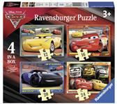 PUZZEL RAVENSBURGER CARS 3 12+16+20+24ST