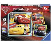 PUZZEL RAVENSBURGER CARS 3 3X49ST