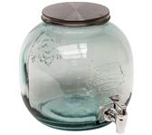 DRINKTAP 6L GLAS HELDER 23X24CM