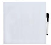 WHITEBOARD DESQ 35X35CM RANDLOOS + MARKER MAGNETISCH