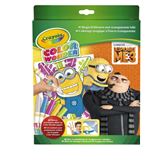 COLOR WONDER BOX CRAYOLA DESPICABLE ME 3 MINIONS