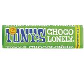 CHOCOLADE TONY'S CHOCOLONELY PUUR AMANDEL ZEEZOUT 47GR