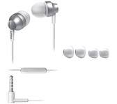 HEADSET PHILIPS E3855 IN EAR ZILVER WIT