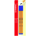 FINELINER STABILO POINT 88 BLAUW